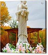 El Santuario De Chimayo Sculpture Garden 5 Acrylic Print