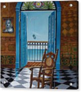 El Sillon De Abuelita Acrylic Print
