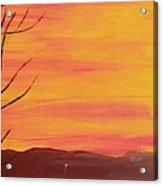el Sol en Pleno Otono Acrylic Print