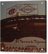 El Toreo De Tijuana Acrylic Print