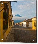 el Volcan Acrylic Print