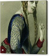 Eleanor Of Aquitaine, Queen Of Henry II Acrylic Print