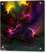 Electric Abstract 052510 Acrylic Print