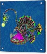 Electric Angler Fish Acrylic Print