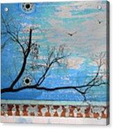 Electric Blue Skies Acrylic Print