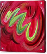 Electric Candy Acrylic Print