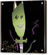 Electric Cat Acrylic Print