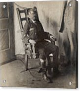 Electric Chair, 1908 Acrylic Print by The Branch Librariesnew York Public Library