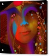 Electric Compassion Acrylic Print