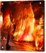 Electric Dance Acrylic Print