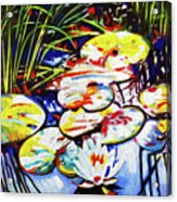 Electric Lillypads Acrylic Print