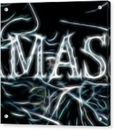 Electric Namaste Acrylic Print