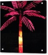 Electric Palm Acrylic Print