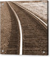 Electric Rails Acrylic Print