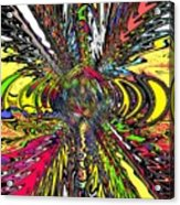 Electric Ripples Acrylic Print