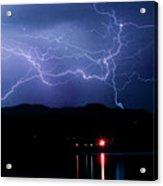 Electric Skies  Acrylic Print