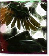 Electric Sunflower Acrylic Print