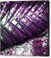 Electric Violet Fish Acrylic Print