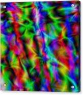 Electric Waves Acrylic Print