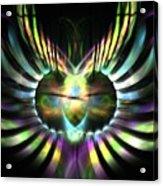 Electric Wings Acrylic Print