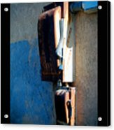 Electrical Box Acrylic Print