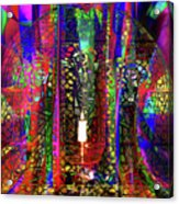 Electromagnetic Light Acrylic Print by Joseph Mosley