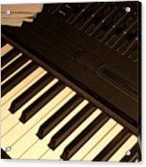 Electronic Keyboard Acrylic Print