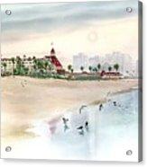 Elegance By The Sea, Coronado Acrylic Print