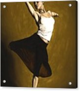 Elegant Dancer Acrylic Print by Richard Young