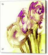 Elegant Flowers Acrylic Print