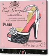 Elegant French Shoes 2 Acrylic Print