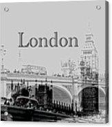 Elegant London Acrylic Print