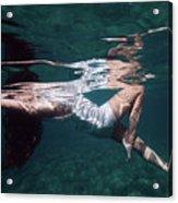 Elegant Mermaid II Acrylic Print