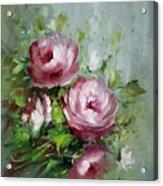 Elegant Roses Acrylic Print
