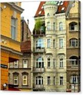 Elegant Vienna Apartment Building Acrylic Print