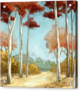 Elegantredforest Acrylic Print