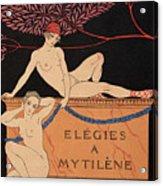 Elegies A Mytilene Acrylic Print