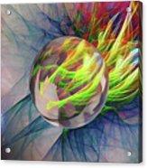 Elemental Space Acrylic Print