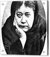 Elena Petrovna Blavatsky Acrylic Print
