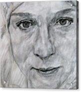 Unknown, Portrait Acrylic Print