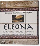 Eleona Acrylic Print