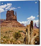 Elephant Butte - Monument Valley - Arizona Acrylic Print