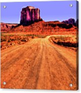 Elephant Butte Monument Valley Navajo Tribal Park Acrylic Print