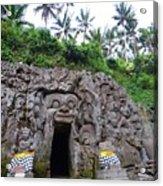Elephant Cave Temple Acrylic Print