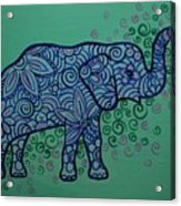 Elephant Dreams Acrylic Print