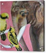 Elephant Fantasy2 Acrylic Print