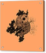 Elephant In Outer Space Acrylic Print