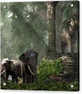 Elephant Kingdom Acrylic Print