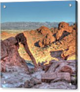 Elephant Rock - Hdr - Valley Of Fire Acrylic Print
