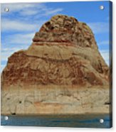 Elephant Rock Lake Powell Acrylic Print by Chuck Wedemeier